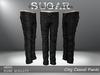 Sugar for men   city casual pants   black jeans ad