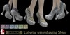 Eclectica 'Catherine Gothic Shoe' - light