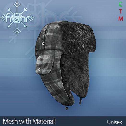 [frohr] Russian Hat Checkered