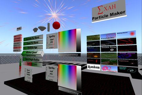 Xah Particle Maker - particle machine for creating full perm particle scripts