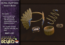 Egyptian Role-Play - Royal Egyptian Amunet Jewelry Set