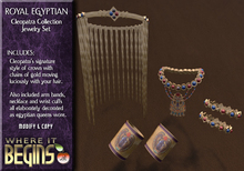 Egyptian Role-Play - Royal Egyptian Cleopatra Jewelry Set