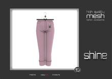 "shine by [ZD] - MESH - ""Fiona"" Cuffed Pants"