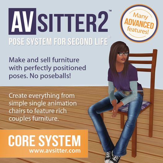 AVSITTER2™ ★ REVOLUTIONARY ★  Multi-Pose-System!