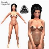 XSL Female Shape X01