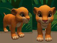 Cartoon Lion - Mesh - Full Perm