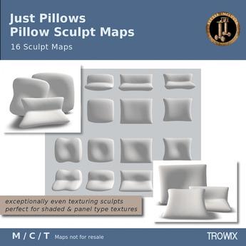 Trowix - Just Pillows Sculpt Maps