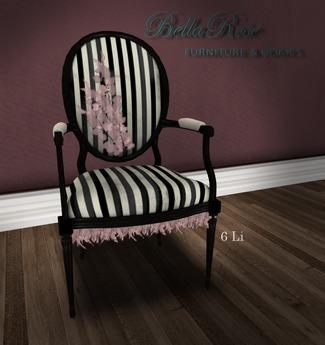 [BR] Antique PrinCesS  Chair - 21 Sits