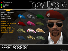 Beret Army - Fully Scripted