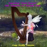 Harp Music Green Sleeves