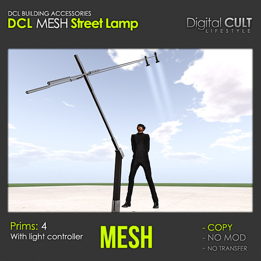 DCL MESH Street Lamp [C]