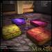 =Mirage= Floor Cushion - India