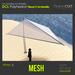 DCL Polyhedron Beach Umbrella