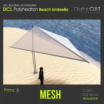DCL Polyhedron Beach Umbrella