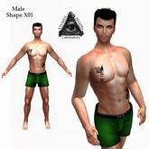 XSL Male Shape X01