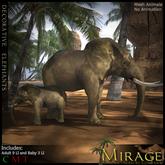 =Mirage= Decorative Elephants