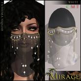 =Mirage= Fateema Niquab - White