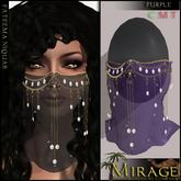 =Mirage= Fateema Niquab - Purple