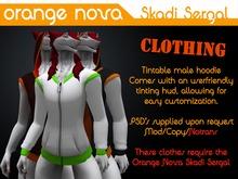 Skadi Sergal - Male hoodie