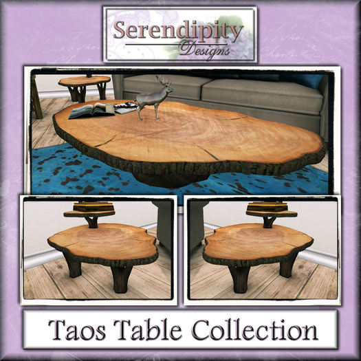 Serendipity Designs - Taos Table Set