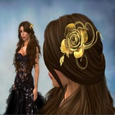 *VR* Gold Hair Rose