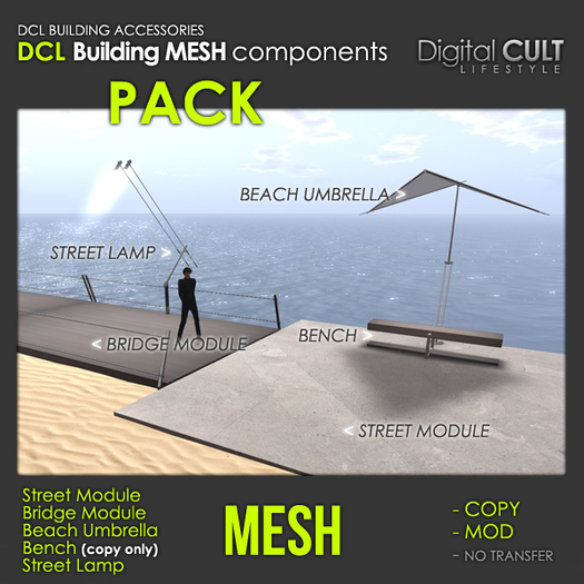 DCL MESH Building Components