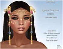 ~Soedara~ Intricate Circlet Light of Galadriel {Gold}