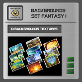 EMU Textur Background - Set Fantasy I