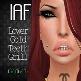 IAF Lower Gold Teeth Grill