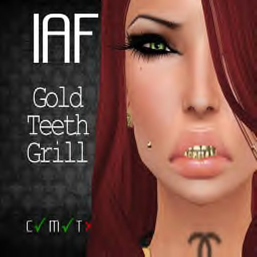 IAF Gold Teeth Grill