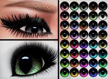 Glassy Eyes - Slitted