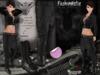 MESH Vesmos Black Female Outfit FashionNatic + Lolas Tango Applier (optional)