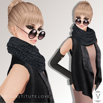 Vanity Hair: No Substitute Love-Blacks(MESH)