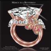 Mercy is a Butterfly Ring Diam by Chop Zuey Couture Jewellery