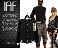 IAF Bomber Jacket (Male and Female) (Black)