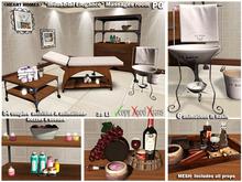 """<HEART HOMES>""""Industrial  Elegance"""" Massages Room Set (PG version)"""