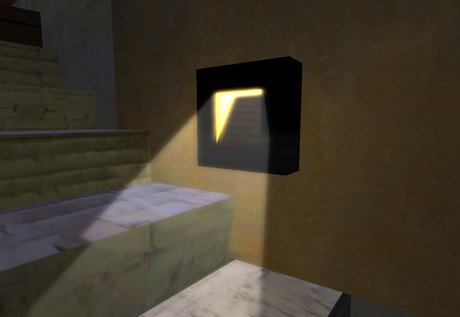 Second Life Marketplace Useful Modern Stair Lighting Wall Light