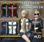 NS::  Sweater Cross Mesh (HUD)