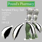 <<PP Inverted Skunk Scripted Flexy Tail<<
