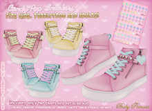 :*BABY*: CandyPop Sneakers { ToddleeDoo - Kids - Adults }