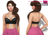 %50WINTERSALE Full Perm System Bralet Top  - Bom Bake On Mesh