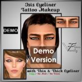 DEMO ISIS Eyeliner - Unisex Tattoo Layer Eye Makeup