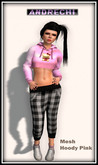 """""""=AnDreChi=""""  -Cropped Hoody Pink"""