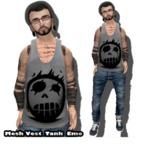 AnDreChi - EMO Mesh_Men's Vest Tank top