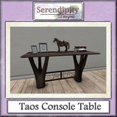 Serendipity Designs - Taos Console Table