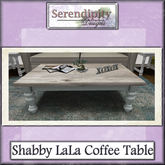 Serendipity Designs - Shabby LaLa Coffee Table.
