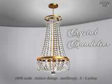 Crystal Chandelier by Abiss