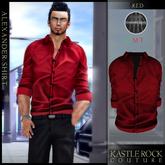 :KR: Alexander Shirt - Red