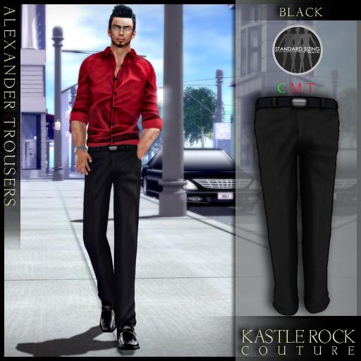 :KR: Alexander Trousers - Black