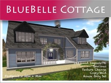Moco Emporium -  BlueBelle Cottage Texture Change House Part Mesh